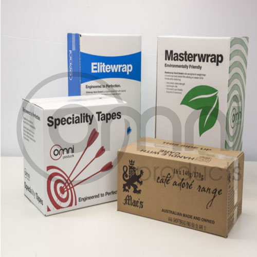 Cartons - Custom Sizing, Thickness & Printing