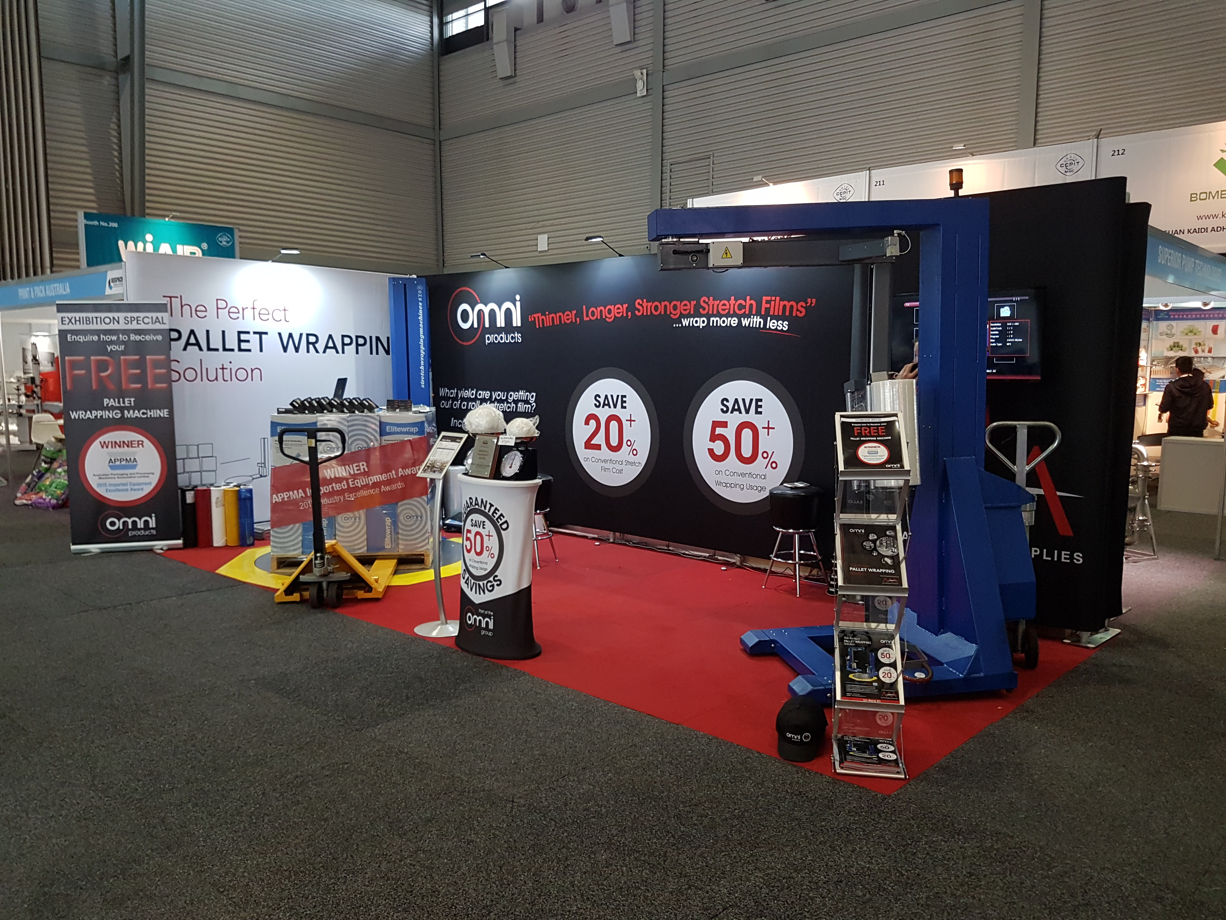 AusPack Exhibiting