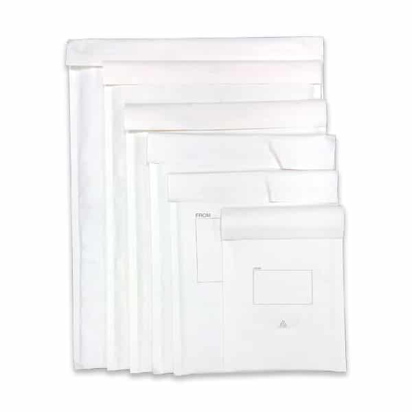 Omni White Paper Bubble Padded Mailing Bags 1 1