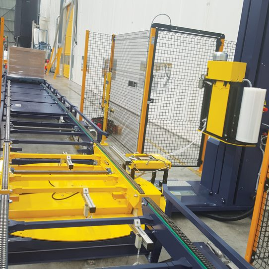 Omni Extrema Inline Wrapping machine