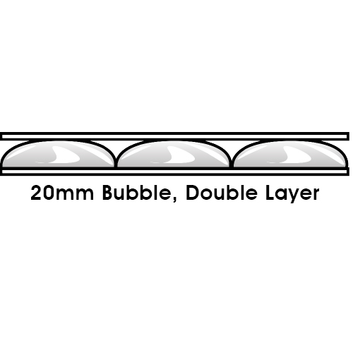 20mm Bubble, Double Layer