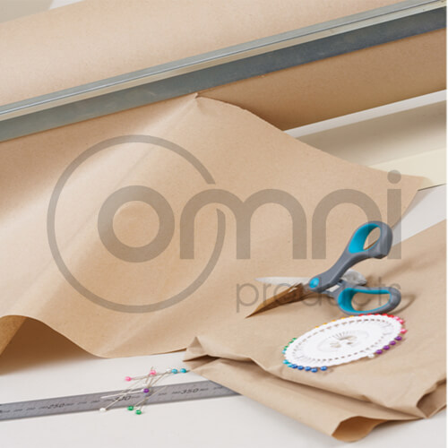 Brown Kraft Rolls - 60gsm (Regular Duty)