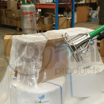 Pallet Covers & Shrink Film - Custom Sizing, Colours & Printing