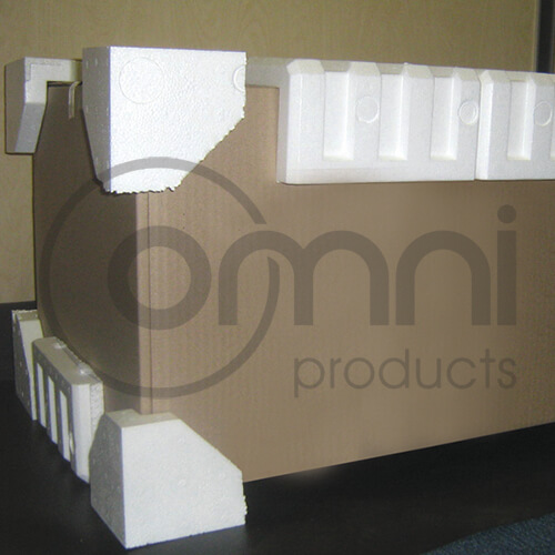Polystyrene Pallet Protection