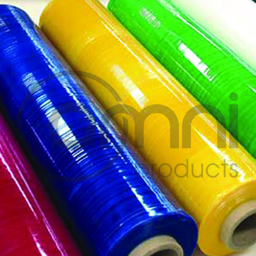 coloured wrap rolls