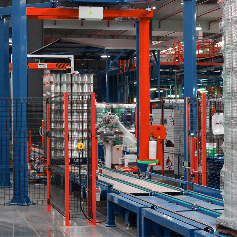 Visy-Inline-Wrapping-machine