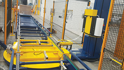 Case Study – Inline Pallet Wrapping Solution