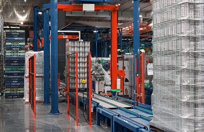 Case Study – Vertex Inline Pallet Wrapping System
