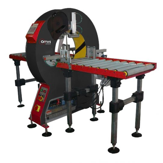 Omni 600 Orbital Wrappers - Roller Table Surface