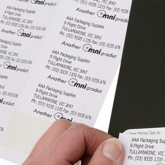 A4 Label Sheets 100 sheets per pack