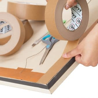 Brown Flatback Paper Tape 1