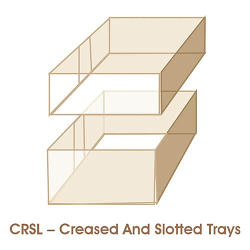 CRSL – Creased And Slotted Trays