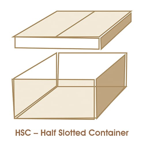 HSC – Half Slotted Container