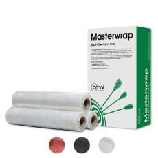 Omni Masterwrap Hand Stretch Wrap Clear Red BK