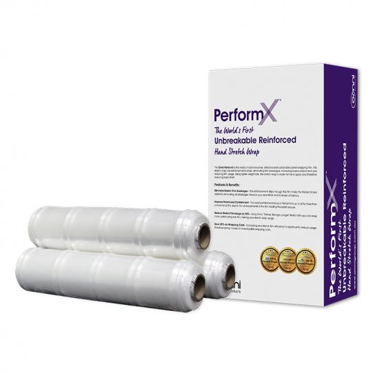 Omni PerformX Reinforced Hand Pallet Stretch Wrap