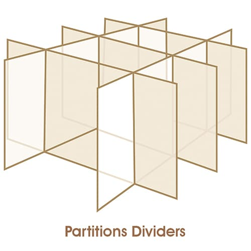 Partitions Dividers