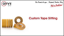 Custom Tape Slitting