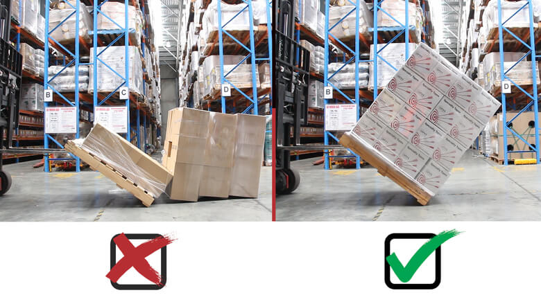 Pallet Load Tip Test 2