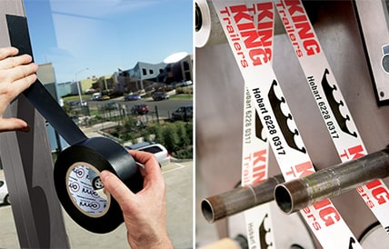 Omni Develops Residue Free Printed Protection Tape