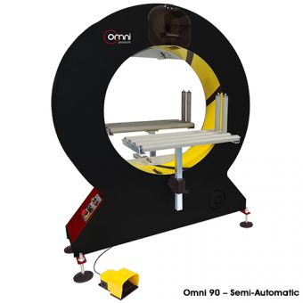 Orbital Wrapping Machine - Semi Automatic
