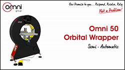 Omni 50 Orbital Wrapper Semi Automatic
