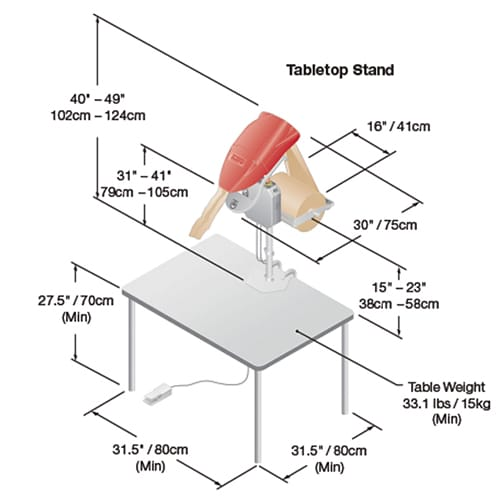 Fasfil Paper Void Fill Tabletop Stand 1