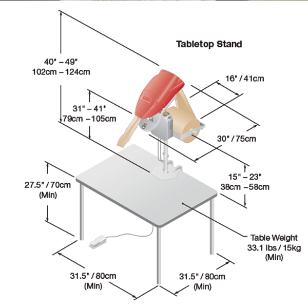 Fasfil Paper Void Fill Tabletop Stand