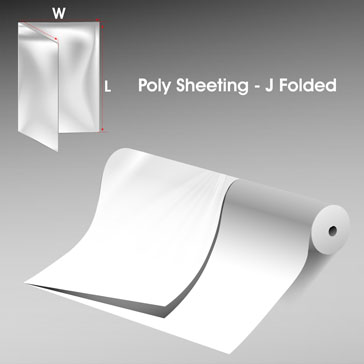 Poly Sheeting J Folded
