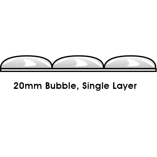 20mm Bubble Single Layer