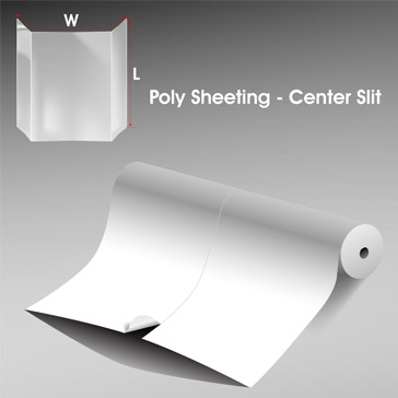 Poly Sheeting Center Slit 1