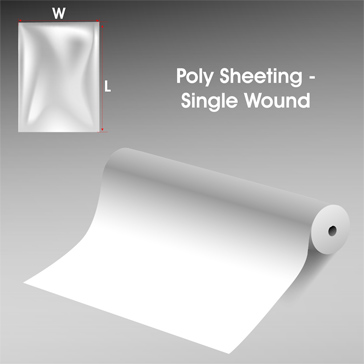 Poly Sheeting Single Wound