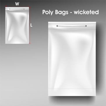 Poly Bags wicketed