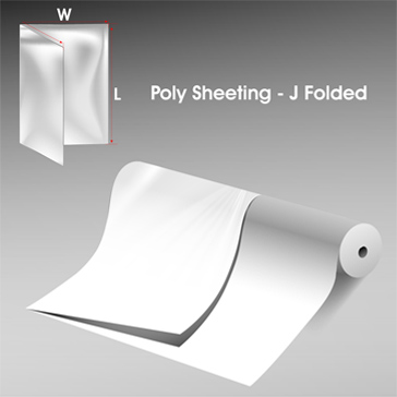 Poly Sheeting J Folded 1
