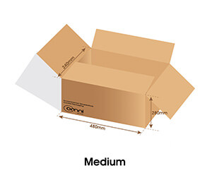 Medium Temp Guard Carton