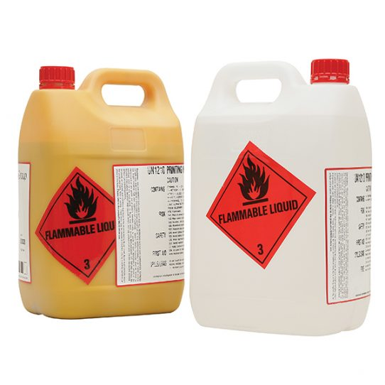 Perforated Printed Hazchem Labels