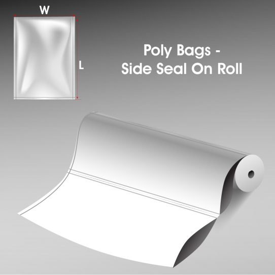 Poly Bags Side Seal On Roll