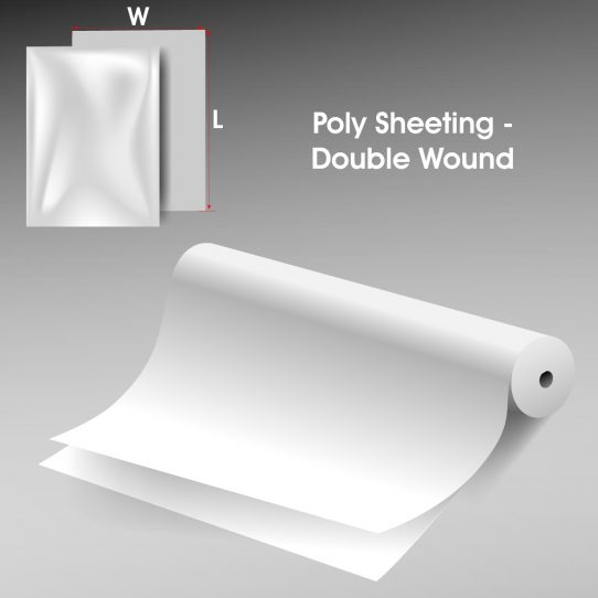 Poly Sheeting Double Wound