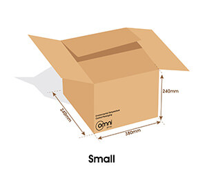 Small Temp Guard Carton
