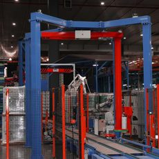 Pallet Wrapping Machine Fully Automated Inline