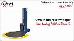 Plana Hand Loading Pallet on Turntable