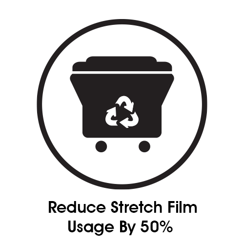 Reduce Stretch Film Usage By 50