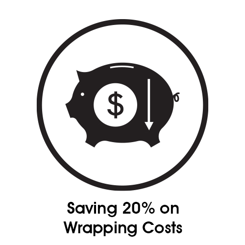 Saving 20 on Wrapping Costs