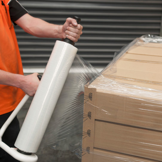 hand pallet stretch wrap opt