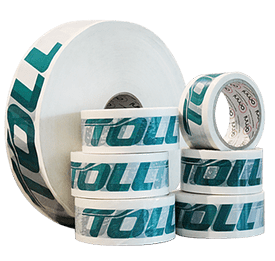 Omni Custom Printed Tape - Toll