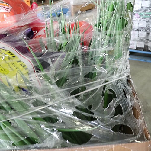 Ventilated Pallet Wrapping Solution