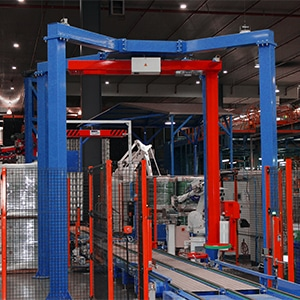 Pallet Wrapping Machine - Fully Automated Inline