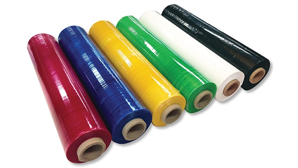 Coloured Stretch Wrap 2